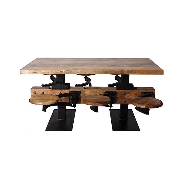table d ner d ancien restaurant collectif d usine. Black Bedroom Furniture Sets. Home Design Ideas
