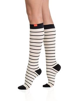 Nautical Stripes - Cream & Black