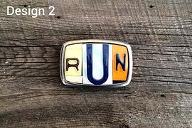 Boucle de ceinture RUN - Design 2
