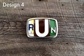 Boucle de ceinture RUN - Design 4