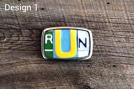 Boucle de ceinture RUN - Design 1