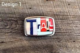Boucle de ceinture TRAIL - Design 1