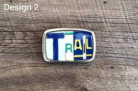 Boucle de ceinture TRAIL - Design 2