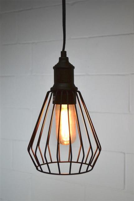 Célèbre Luminaire industriel suspendu | Hestia - Décoration, mobilier  GK47