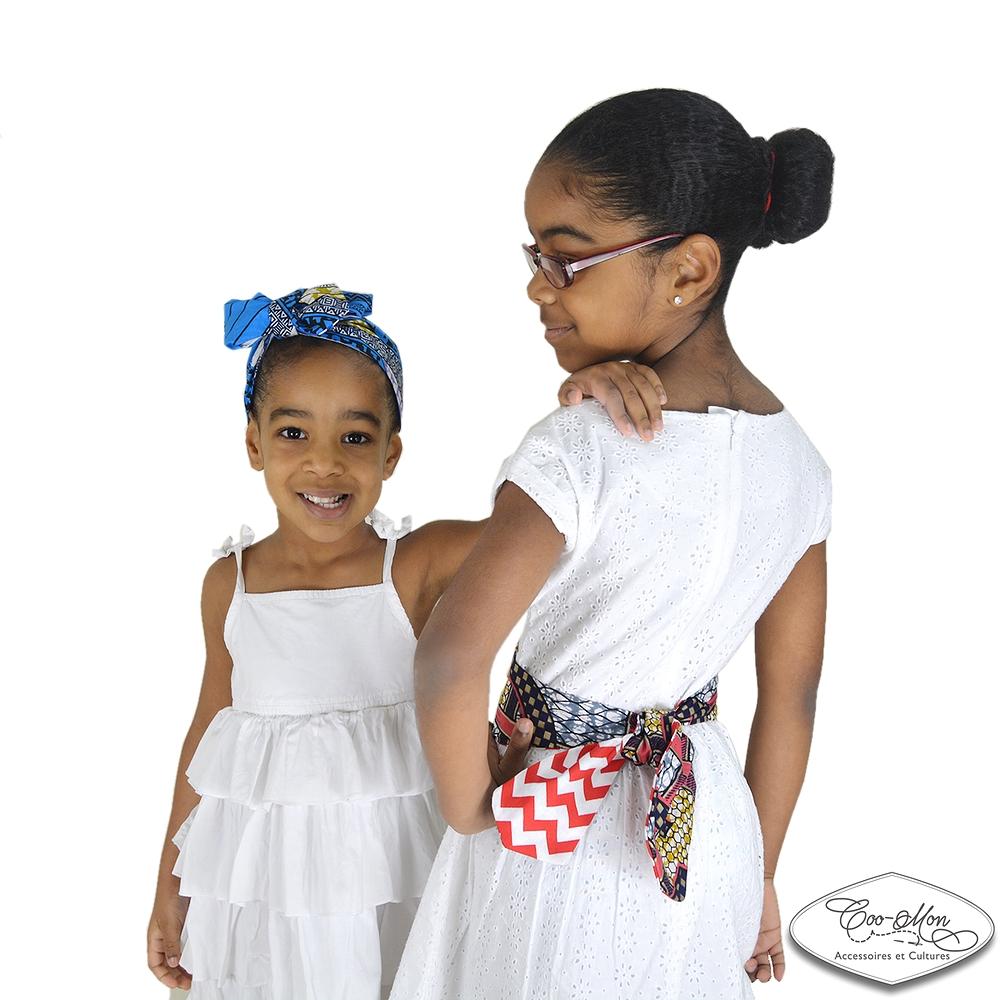 bandeau foulard turban ceinture r versible b b fille femme maman rouge b b fille chevron. Black Bedroom Furniture Sets. Home Design Ideas