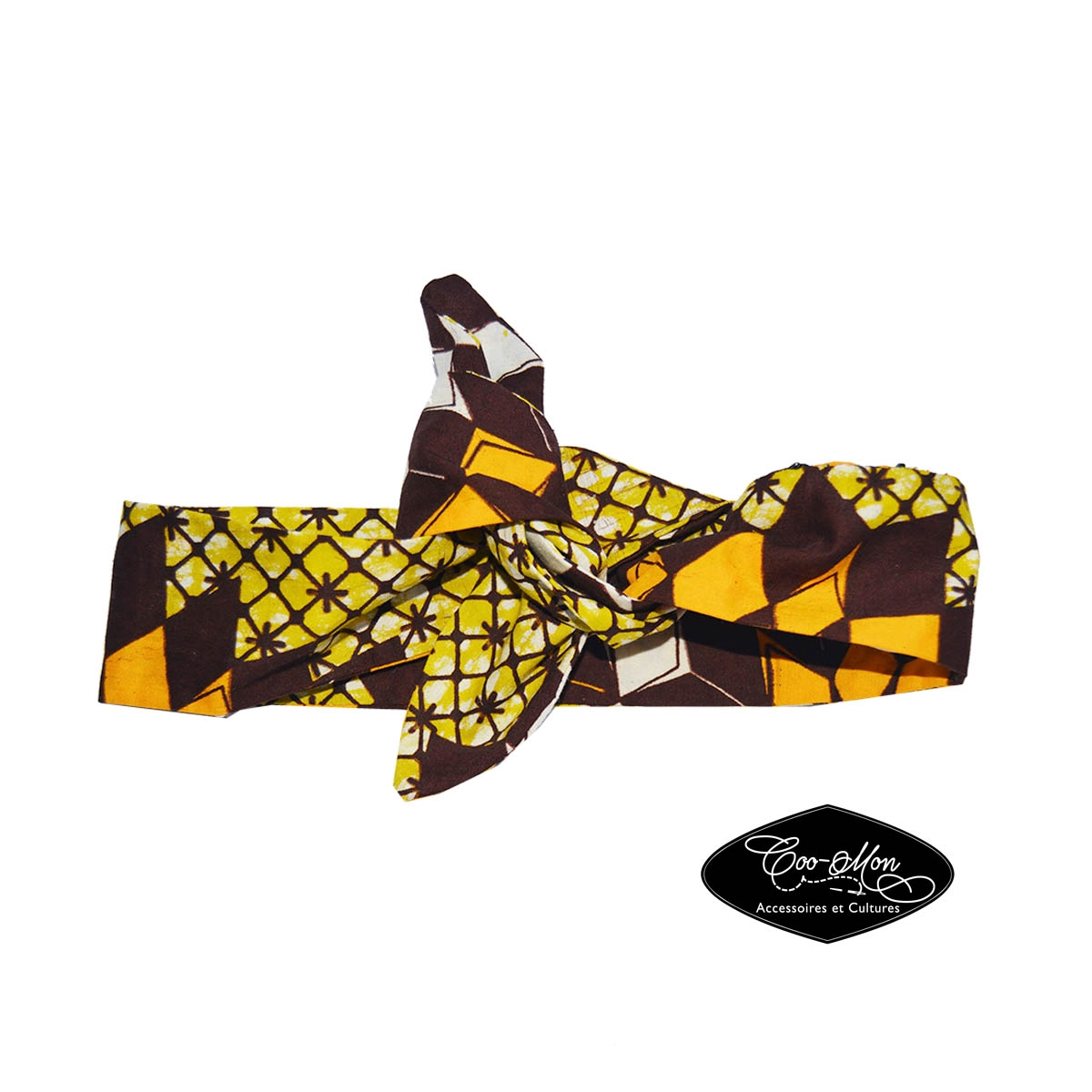 bandeau foulard turban serre t te chouchou femme fille b b pagne africain wax coo mon. Black Bedroom Furniture Sets. Home Design Ideas