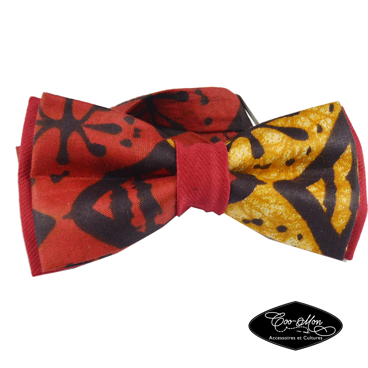 noeud papillon homme noeud papillon femme noeud papillon rouge african print bow tie cravate. Black Bedroom Furniture Sets. Home Design Ideas