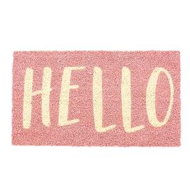 """Tapis """"Hello"""""""