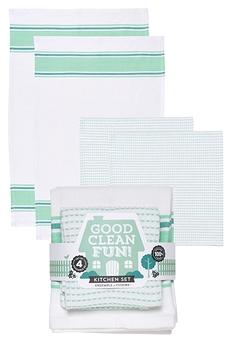 Ensemble de serviettes pour la cuisine GOOD CLEAN FUN
