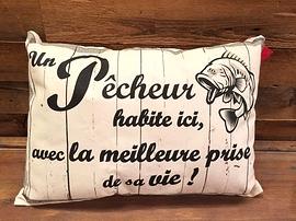 """Coussin """"Pêcheur"""""""