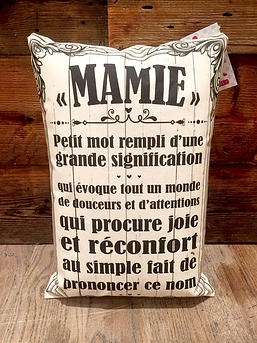 Coussin ''Mamie''