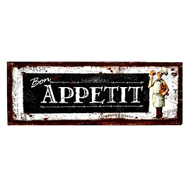 """Affiche """"Bon appétit"""""""