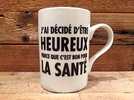 "Tasse ""Heureux"""
