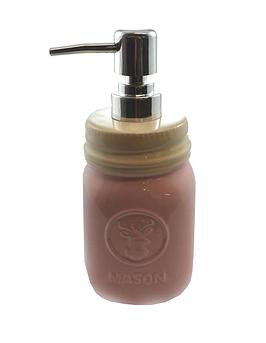 """Pompe à savon """"pot mason"""""""