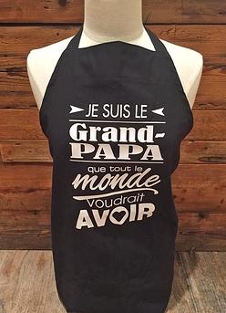 "Tablier ""Grand-papa"""