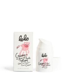 Crème pour les fesses à l'huile d'olive - Lolo
