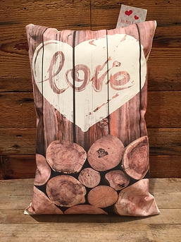 """Coussin """"Love"""""""
