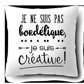 """Coussin """"Créative"""""""