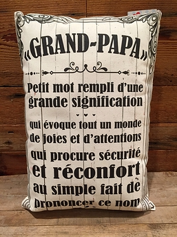 "Coussin ""Grand-papa"""