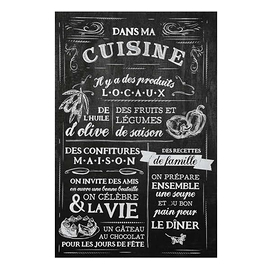 "Affiche ""Dans ma cuisine"""