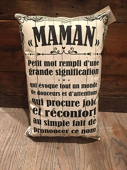 "Coussin ""Maman"""