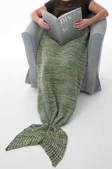 Queue de sirène en tricot