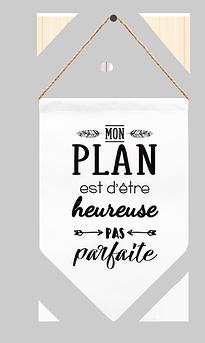 """Fanion """"Mon Plan"""""""