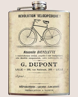"""Flasque """"Bicyclette"""""""