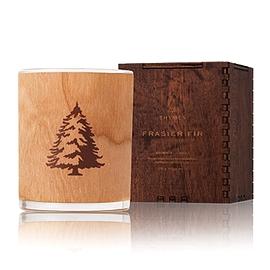 Bougie mèche en bois aromatique FRASIER FIR