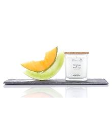 Bougie au soja - Cantaloup et melon miel
