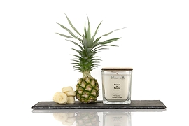 Soy Candle - Pineapple and Banana
