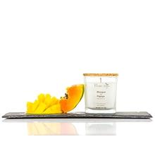 Bougie au soja - Mangue et papaye