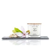 Bougie au soja - Pistache et magnolia