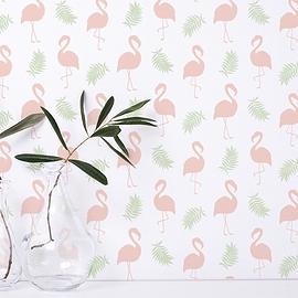 Papier peint KAMELEON - Flamingo