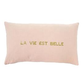 """Coussin """"Vie est belle"""""""