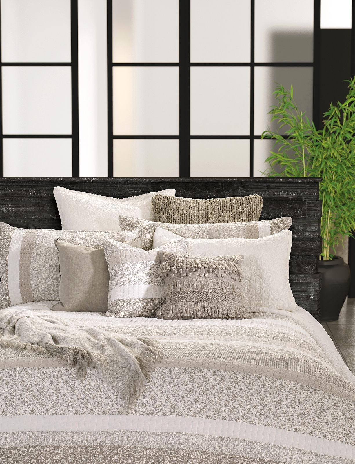 quilted duvet cover. LOLA Quilted Duvet Cover V