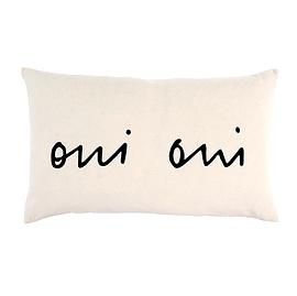 "Coussin ""Oui Oui"""