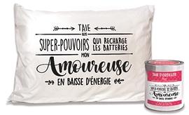 """Taie d'oreiller """"Mon amoureuse"""""""