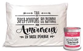 """Taie d'oreiller """"Mon Amoureux"""""""
