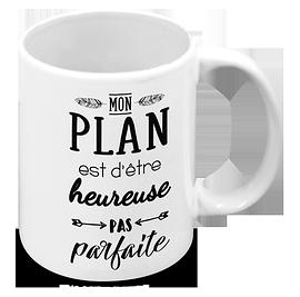"""Tasse """"Mon plan"""""""