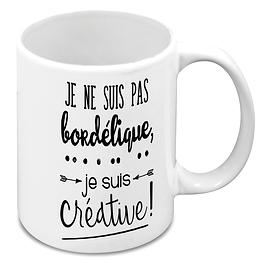 "Tasse ""Créative"""