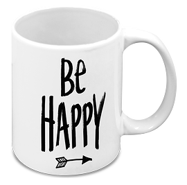 "Tasse ""Be Happy"""