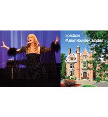 Joan Bluteau chante DALIDA - Manoir Rouville-Campbell, Mont-Saint-Hilaire - «Dimanche nostalgie» 11 fév. 2018, 14h (Prix: 35 $ taxes incluses)