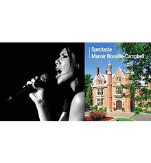 Fabiola Piaf & Brel - Manoir Rouville-Campbell - Dimanche 25 février 2018, 14h. Mont-Saint-Hilaire, Québec  (Prix 35$ taxes incluses)