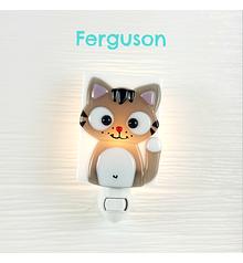 Veilleuse - Chat gris - Ferguson