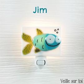 Night light - Fish - Jim