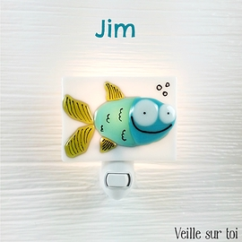 Veilleuse - Poisson - Jim