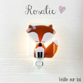 Veilleuse - Renard Fille - Rosalie