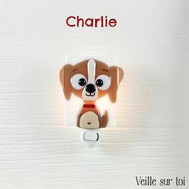 Veilleuse - Chien - Charlie