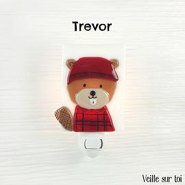 Veilleuse - Castor Bûcheron - Trevor